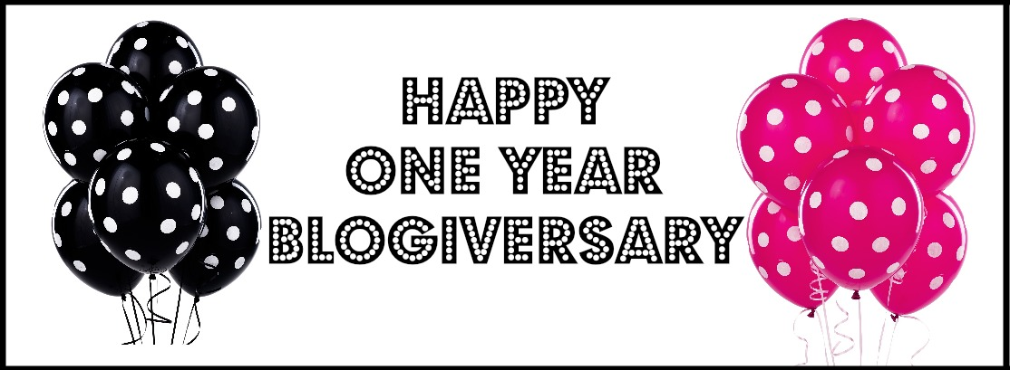 One Year Blogiversary – GIVEAWAY{CLOSED}