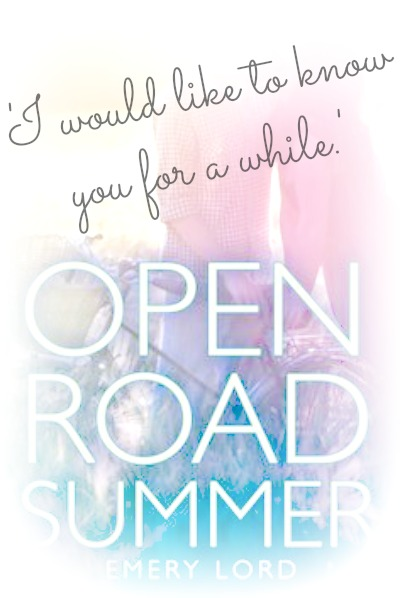 Summer Promo for Open Road Summer {CLOSED}