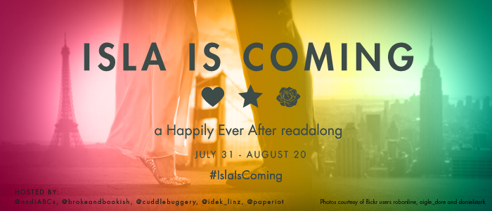 Introducing – Isla is Coming: a Happily Ever After readalong