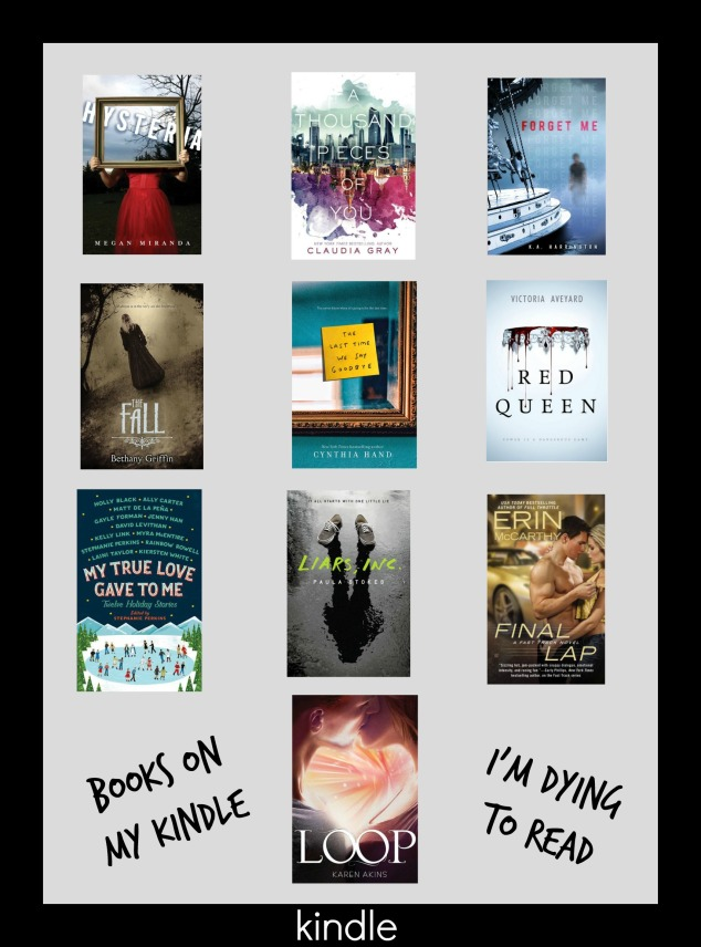 Top Ten Tuesday – Books on my Kindle I'm Dying to Read